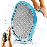 Helperfect® 2in1 Nano Glas Hornhautentferner Nass & Trocken - Hochwirksame Hornhaut Entfernung für Fuss & Hand - Hornhautfeile für die professionelle Fußpflege…