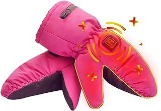 Aroma Season Heated Kids Gloves for Cold Winder, Waterproof Ski Gloves