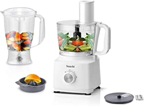 Saachi All In One Food Processor, White, NL-BFC-4964