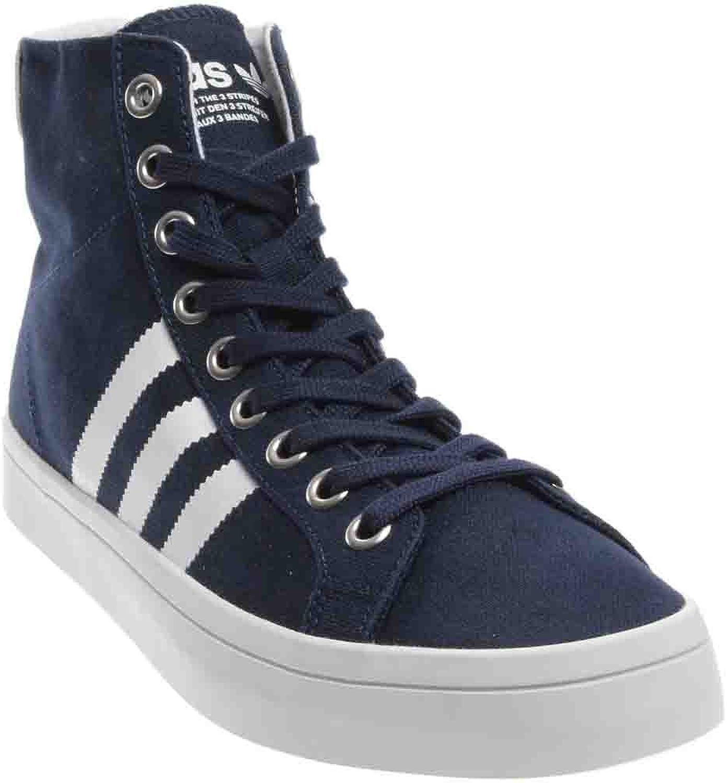 Adidas Men's Courtvantage Mid Mid-Top Canvas Fashion Sneaker