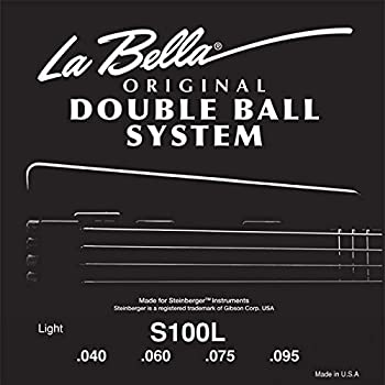 La Bella Steinberger Electric Bass Strings - Light, 1 set