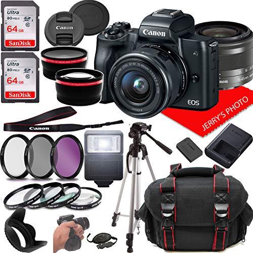 Canon EOS M50 Mirrorless Camera Kit...