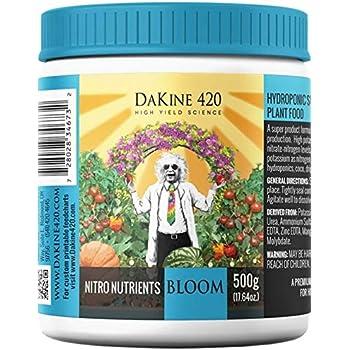 DaKine 420 Nitro Nutrients Bloom 8-14-28 Indoor Plant Food & Fertilizer, 1000g