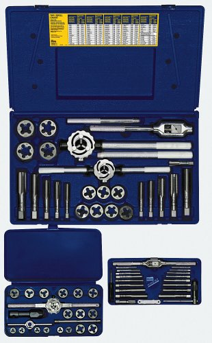 IRWIN Tap And Die Set, Metric, 66-Piece (97312)