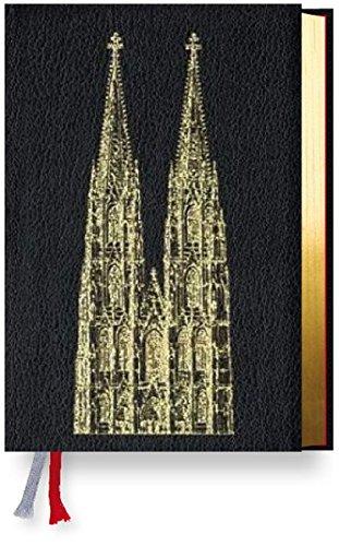 Gotteslob Erzbistum Köln. Rindleder schwarz, Goldschnitt, Domprägung.: Katholisches Gebet- und Gesangbuch. Neues Gotteslob für das Erzbistum Köln.