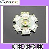 CREE Q4 1W,3W,4W Star Bright warm White Color LED DIY 350-1000mA original CREE 5pcs/lot