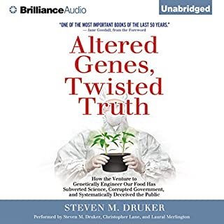 Altered Genes, Twisted Truth audiobook cover art