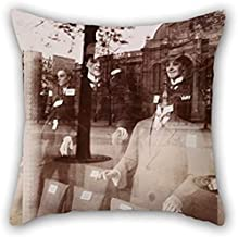 Cushion Covers Of Oil Painting Eugène Atget - Magasin, Avenue Des Gobelins,for Play Room,christmas,deck Chair,car,shop,floor 20 X 20 Inch / 50 By 50 Cm(twice Sides)