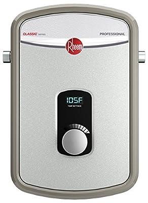 Rheem 240V Heating Chamber RTEX-13 Residential Tankless Water Heater, GRAY