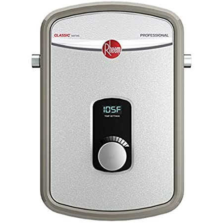 Rheem 240V Heating Chamber RTEX-13 Residential Tankless Water Heater, GRAY
