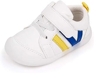 MASOCIO Unisex Zapatillas Bebé Niño Niña Zapatos Primeros Pasos con Suela Goma Antideslizante
