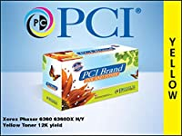 プレミアム互換機Inc。106r01220-pciインク交換カートリッジトナーXerox Phaserのプリンタ用、イエロー