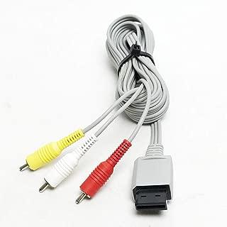 Original Nintendo Wii Audio Video AV Cable Cord (Bulk Packaging)