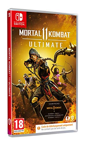 Mortal Kombat 11 Ultimate Code In Box - Nintendo Switch [Importación francesa]