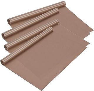 Art /& Craft LifeGlow 5 Sheets PTFE Teflon Sheet for Heat Press Transfer Sheet 16x20 inch 0.11mm Thick Reusable Heat Resistant Craft Mat for Heat Transfer Barbecue Baking Cream Iron Protects