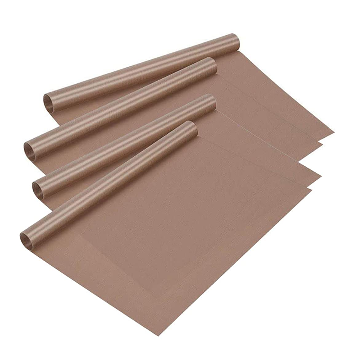 4 Pack 15 x 24 Inch PTFE Heat Resistant Craft Mat Sheet, KEWAYO Non Stick Heat Press Transfer Sheet