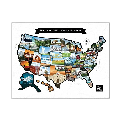 See Many Places Scratch Off Map of …