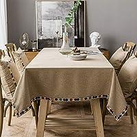長方形のテーブルクロス100%ポリエステルソフトウォッシャブルテーブルクロスパーティーレストランパーティービュッフェテーブル用の無地のテーブルカバー