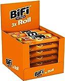 BiFi Roll – 10er Pack (10 x 3 x 45 g)– Snack im Teigmantel – Herzhafter, original Salami Fleischsnack – Snack im Teigmantel