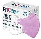 20 FFP2/KN95 Maske Rose CE Zertifiziert Kleine Größe Small, Medizinische Mask mit 4...