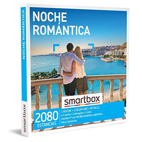 SMARTBOX - Caja Regalo - Noche romántica - Idea de Regalo - 1 Noche con Desayuno y Detalle o Cena o 1 Noche con Desayuno para 2 Personas