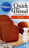 Pillsbury Quick Bread and Muffin Baking Mix, Pumpkin, 14-Ounce Boxes (Pack of 12)