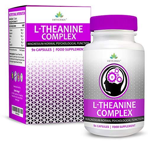 Suplemento de L-Teanina – Complejo de Alta Concentración...