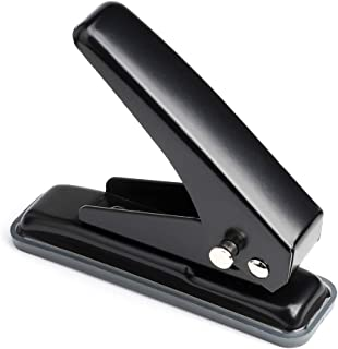 MROCO Low Force 1-Hole Punch, 20 Sheets Punch Capacity, 1/4