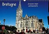 Bretagne - Zwischen Meer und Geschichte (Wandkalender 2020 DIN A3 quer): Bretagne zwischen Meer und Geschichte (Monatskalender, 14 Seiten )