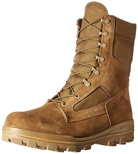Bates Men's DuraShocks Steel Toe Military & Tactical Boot, Olive Mojave, 6.5 W US