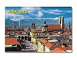 Magnet München Alpenpanorama