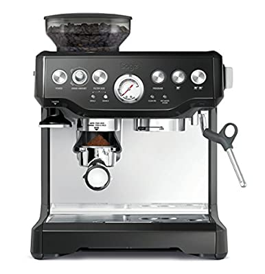 Sage The Barista Express Machine, Black Sesame