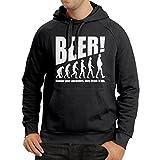Sweatshirt à Capuche Manches Longues The Beervolution - des idées de Cadeaux...