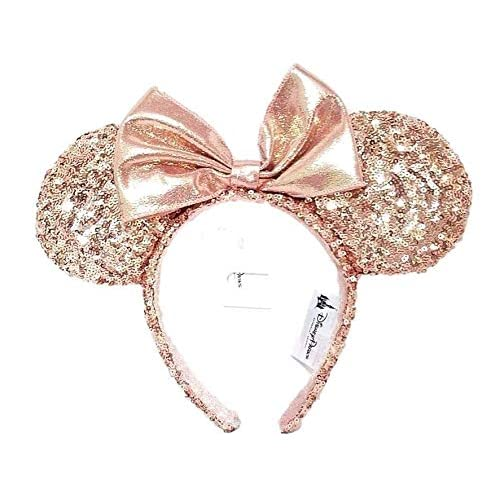 786247c9a59 Minnie Mouse Ears Rose Gold Walt Disney World Authentic Merchandise
