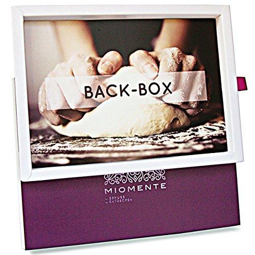 Miomente Back-Box: Backkurs-Gutschein - Geschenk-Idee Erlebnisgutschein