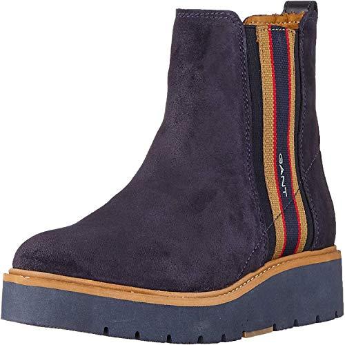 GANT Footwear Damen Casey Stiefeletten, Blau (Marine G69), 40 EU