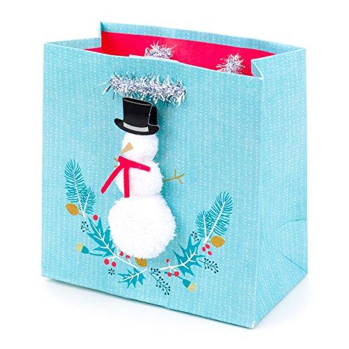 Hallmark Signature Holiday Small Gift Bag (Snowman)