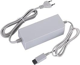 Flushzing Remplacement pour Wii EU Plug Console 110-240V Chargeur DC 15V 5A Plastique Adaptateur Mural dalimentation