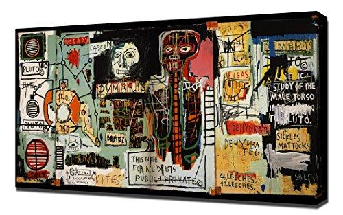 Lilarama Notaire–Jean Michel Basquiat encadrée Impression sur toile Reproduction
