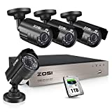 Best Surveillance Systems - ZOSI 1080P Security Camera System with 1TB Hard Review