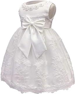 KINDOYO Baby Girls Dress - Baby Newborn Girls Pageant Birthday Party Cute Pretty Princess Dresses for 0-2 Year