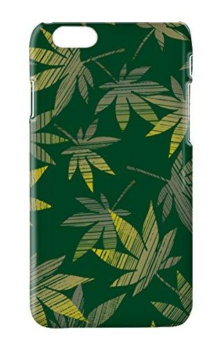 Funda Carcasa Cannabis Marihuana para iPhone 5 5S plástico rígido