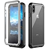 iPhone Xs Max Case,Built-in Screen Protector Cover 360