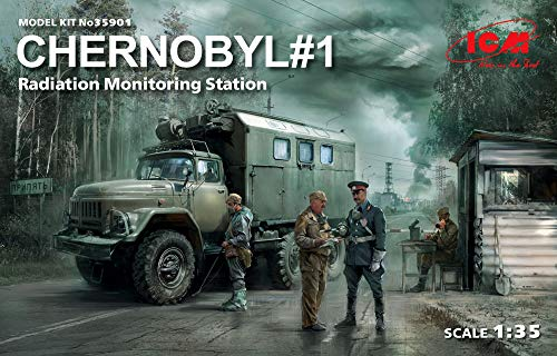 ICM 1/35 チェルノブイリ ♯1 放射線監視ステーション プラモデル 35901