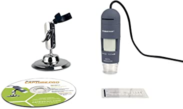 Celestron Deluxe Handheld Digital Microscope, Capture Your Discoveries, (44302-C)