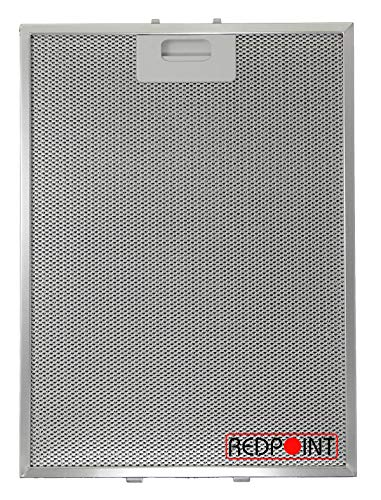 Filtros de aluminio para campanas extractoras mm.283x380x9