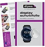 dipos I 6X Schutzfolie klar kompatibel mit LG Watch Sport Folie Bildschirmschutzfolie