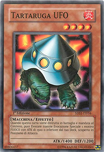Yu-Gi-Oh! - 5DS1-IT016 - Tortuga Ufo - Baraja Introductorial 5D's - Unlimited Edition - Comune