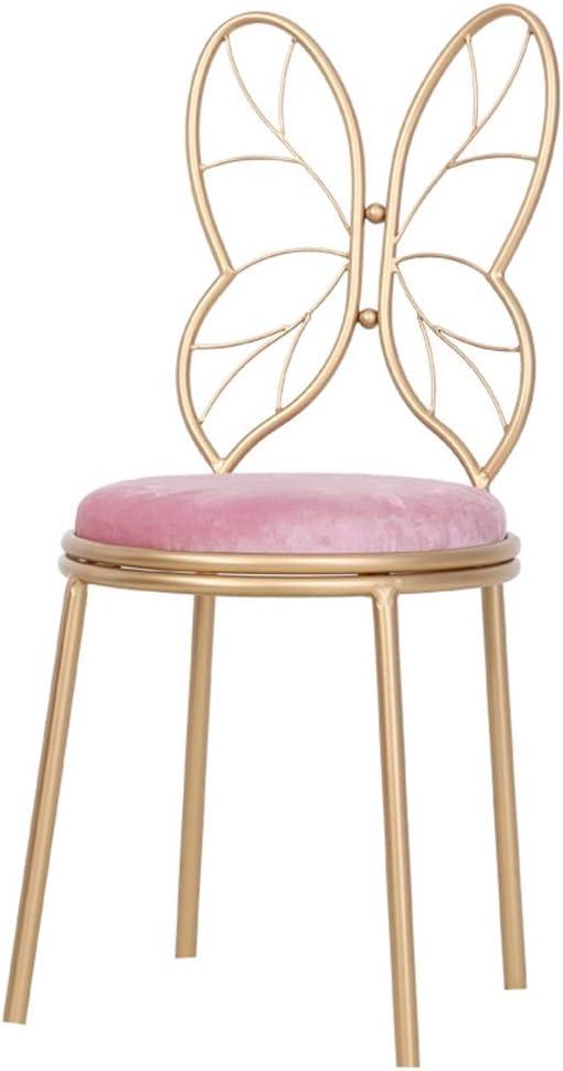 Portable Chaise de maquillage, manucure fauteuil en métal