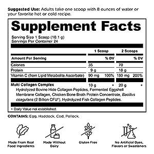 Ancient Nutrition Multi Collagen Protein Powder Unflavored 244.8 Grams